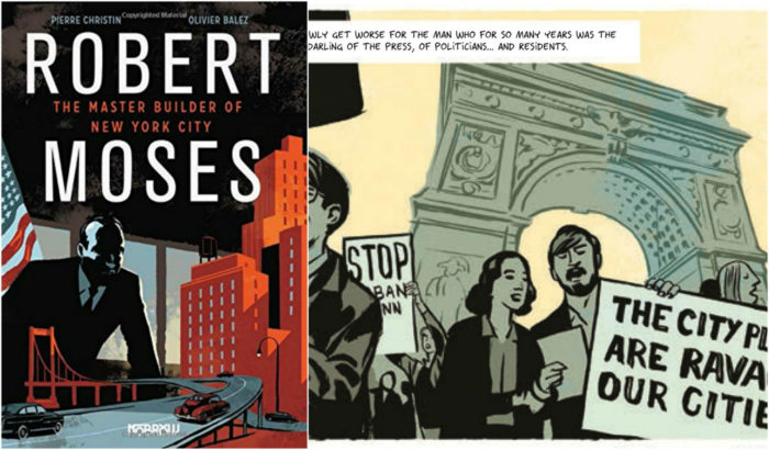 Robert Moses - Graphical Novel About Architecture