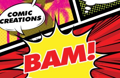 Copyrights and trademarks for comic creations