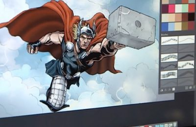 Design the most illustrative comics using Adobe Photoshop